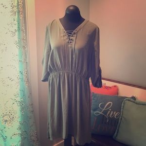 Olive Green Mossimo Dress